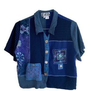 Vintage unique Button Down Shirt
